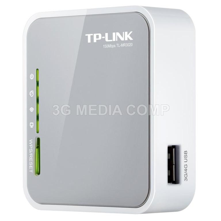 TP-LINK MR3020 Portable USB Router Modem 3G/4G 150Mbps