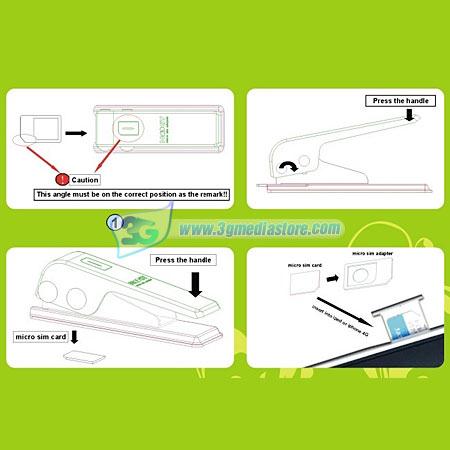 Noosy Micro SIM Cutter Model Stylish